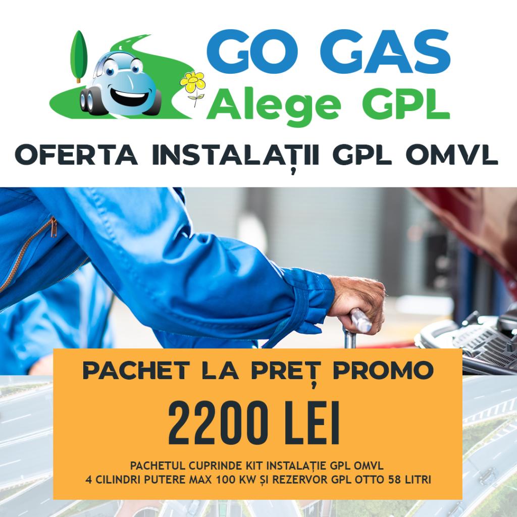 Pachet promo Go Gas